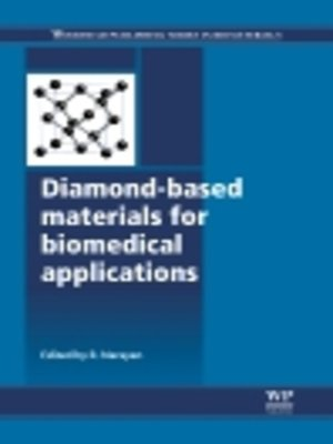cover image of Diamond-Based Materials for Biomedical Applications
