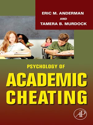 cover image of Psychology of Academic Cheating