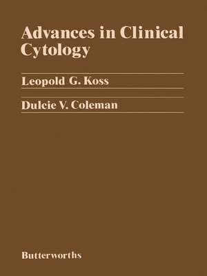 cover image of Advances in Clinical Cytology