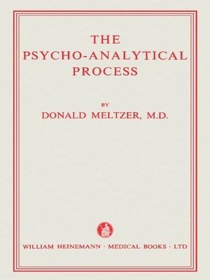 cover image of The Psycho-Analytical Process