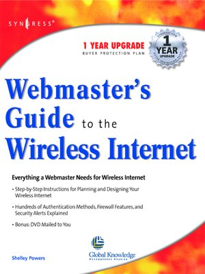 cover image of Webmasters Guide to the Wireless Internet