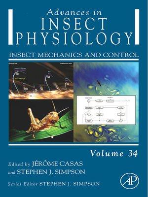 advances in insect physiology treherne j e wigglesworth v b berridge michael j