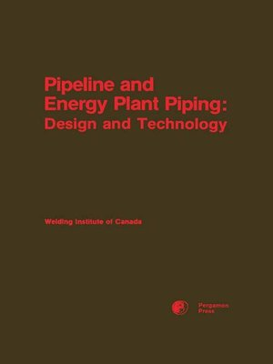 cover image of Pipeline and Energy Plant Piping