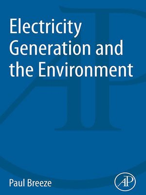 cover image of Electricity Generation and the Environment