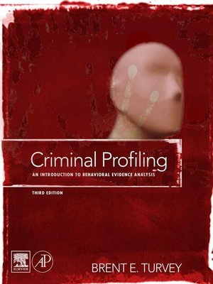 cover image of Criminal Profiling
