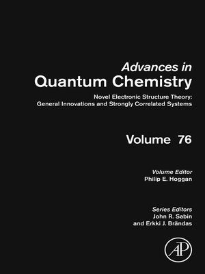 cover image of Advances in Quantum Chemistry, Volume 76