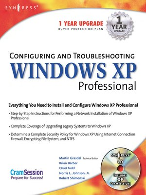 cover image of Configuring and Troubleshooting Windows XP Professional