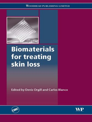 cover image of Biomaterials for Treating Skin Loss