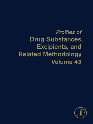 cover image of Profiles of Drug Substances, Excipients and Related Methodology, Volume 43