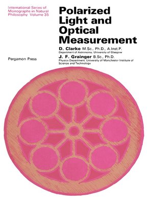 cover image of Polarized Light and Optical Measurement