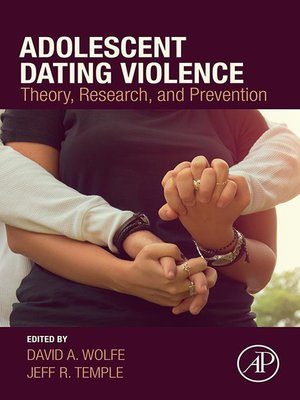 cover image of Adolescent Dating Violence