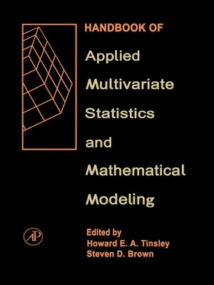 cover image of Handbook of Applied Multivariate Statistics and Mathematical Modeling