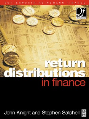 cover image of Return Distributions in Finance