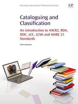 cover image of Cataloguing and Classification