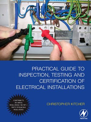 practical guide to inspection testing and certification of rh overdrive com Electrical Installation Clip Art Electrical Service Installation Diagrams