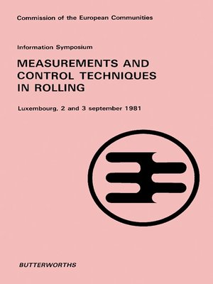 cover image of Information Symposium Measurement and Control Techniques in Rolling
