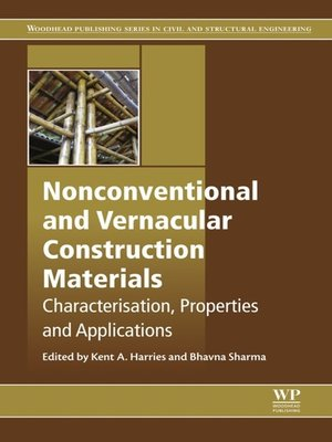 cover image of Nonconventional and Vernacular Construction Materials