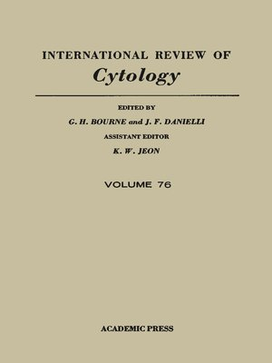 cover image of International Review of Cytology, Volume 76
