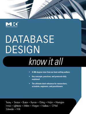 cover image of Database Design