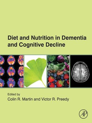 cover image of Diet and Nutrition in Dementia and Cognitive Decline