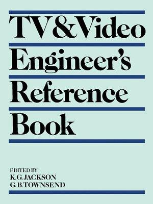 cover image of TV & Video Engineer's Reference Book