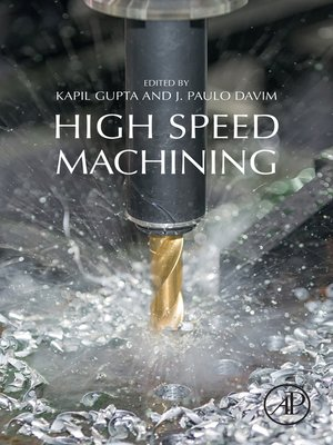 cover image of High-Speed Machining