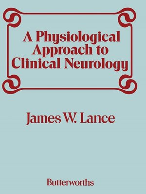cover image of A Physiological Approach to Clinical Neurology