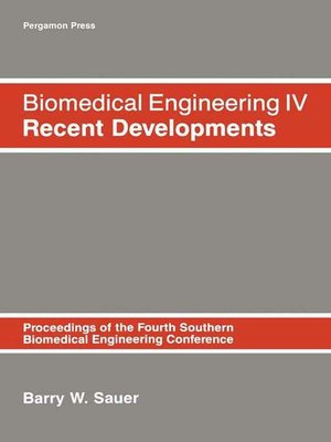 cover image of Biomedical Engineering IV