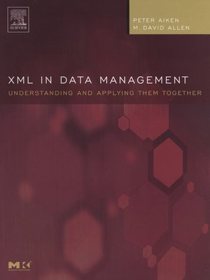 cover image of XML in Data Management