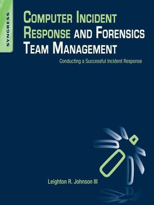 cover image of Computer Incident Response and Forensics Team Management