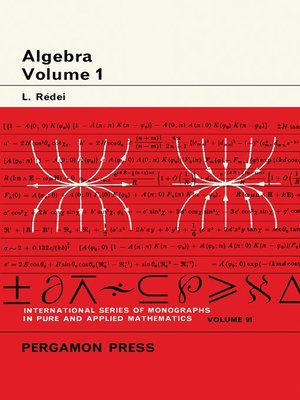 cover image of International Series in Pure and Applied Mathematics, Volume 91