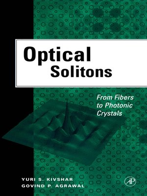 cover image of Optical Solitons