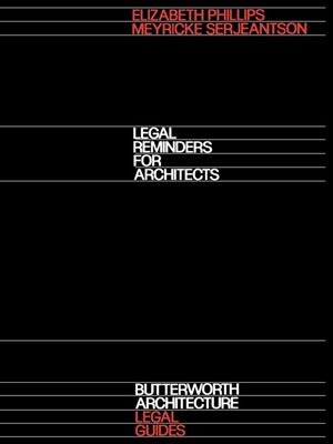 cover image of Legal Reminders for Architects