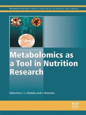 cover image of Metabolomics as a Tool in Nutrition Research