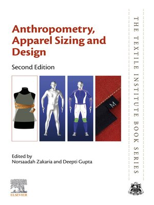 cover image of Anthropometry, Apparel Sizing and Design