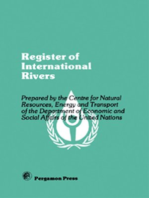 cover image of Register of International Rivers