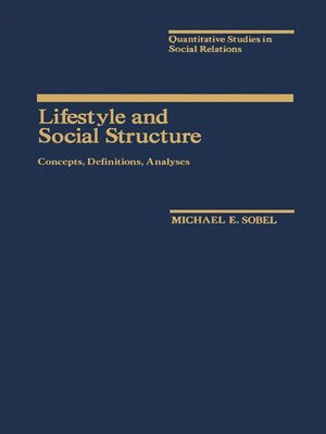 cover image of Lifestyle and Social Structure