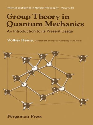 cover image of Group Theory in Quantum Mechanics
