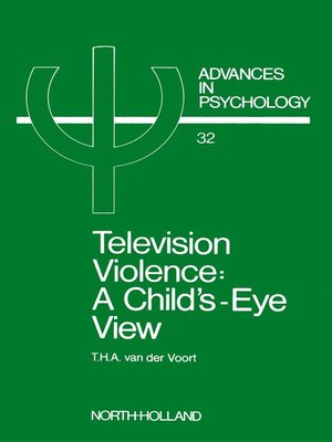 cover image of Television Violence