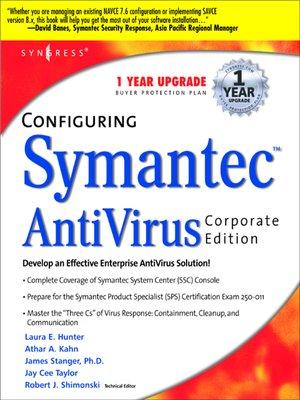 cover image of Configuring Symantec AntiVirus Enterprise Edition