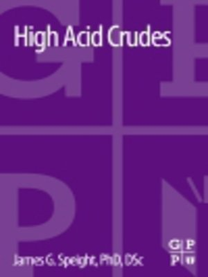 cover image of High Acid Crudes