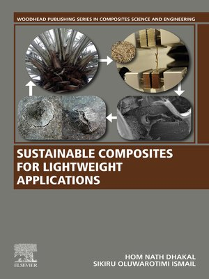 cover image of Sustainable Composites for Lightweight Applications