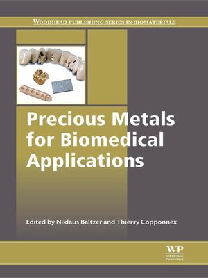cover image of Precious Metals for Biomedical Applications