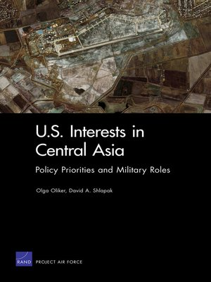 cover image of U.S. Interests in Central Asia