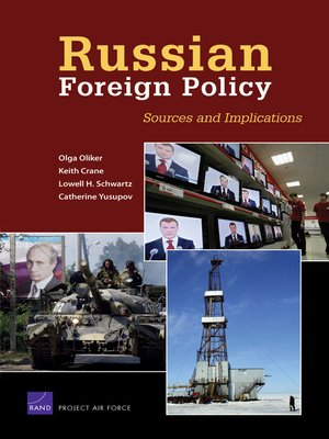 cover image of Russian Foreign Policy