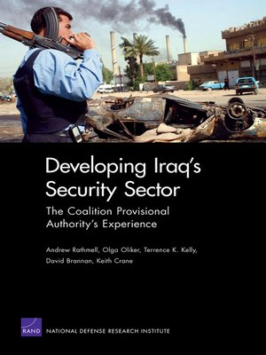 cover image of Developing Iraq's Security Sector