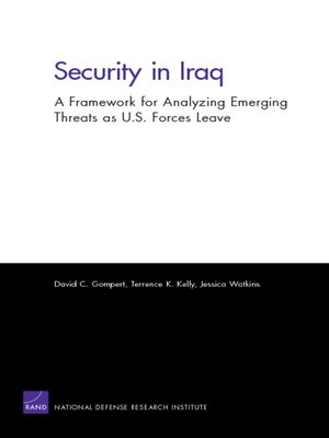 cover image of Security in Iraq