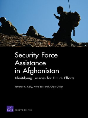 cover image of Security Force Assistance in Afghanistan
