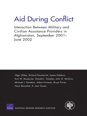 cover image of Aid During Conflict