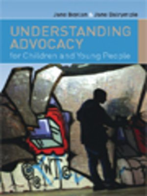 cover image of Understanding Advocacy For Children And Young People